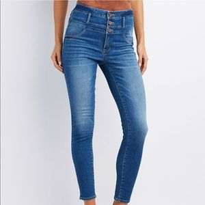 Charlotte Russe High Waisted Jeans